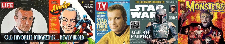 Newly Arrived Magazines