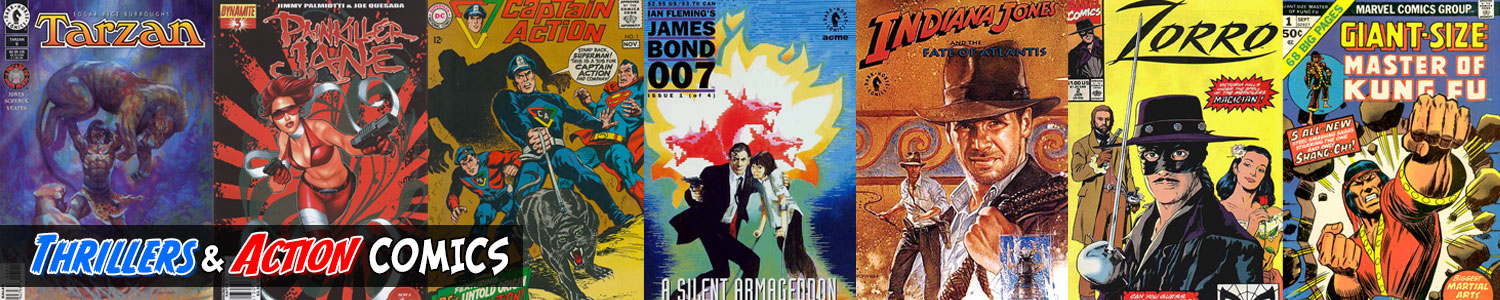 Thrillers and Action Comics